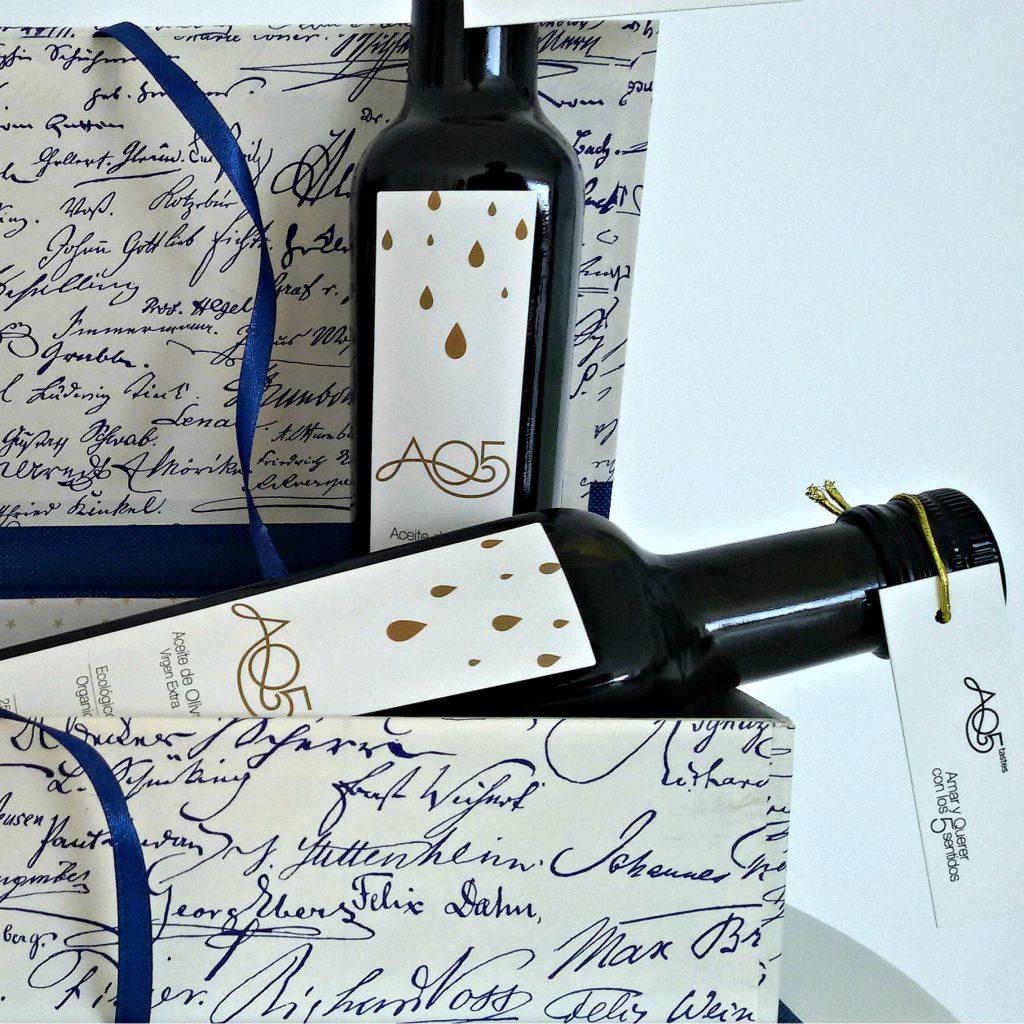 Caja regalo AQ5 Letras